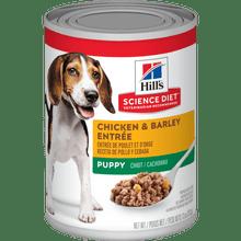 Hills Canine Puppy Chicken Barley Entre 370 gr