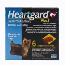 Heardgard Plus Para Perros Hasta 11 Kg X 6 Tabletas