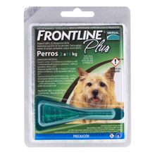 Antiparasitario Para Perros Frontline Plus Dog Pipeta De 2 A 10 Kg 0.67 Ml