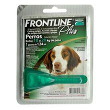 Antiparasitario Para Perros Frontline Plus Dog Pipeta De 10 A 20 Kg 1.34 Ml