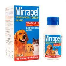Mirrapel Suplemento Nutricional para perros y gatos Oleoso 120 Ml