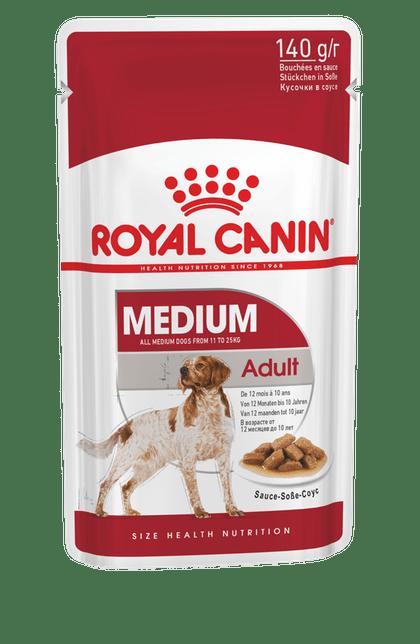 Royal-Canin-Pouch-Medium-Adulto-140gr