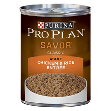 Comida Para Perros Pro Plan Savor Classic Adult Chicken And Rice Canned Dog 185 Gr