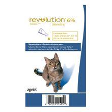 Revolution Azul para gatos 6%