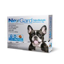 Nexgard Antipulgas Para Perros De 4.1 A 10Kg