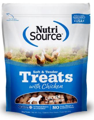 Nutrisource-Soft---Tender-Chicken-Dog-Treats-170Gr
