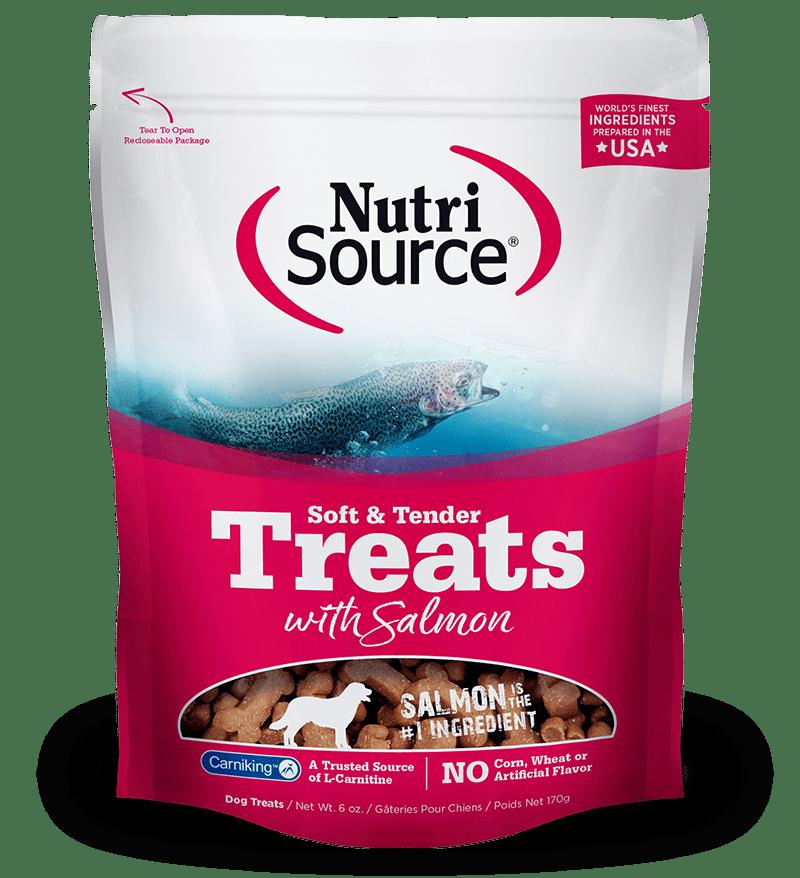 Nutrisource-Soft---Tender-Salmon-Dog-Treats-170Gr