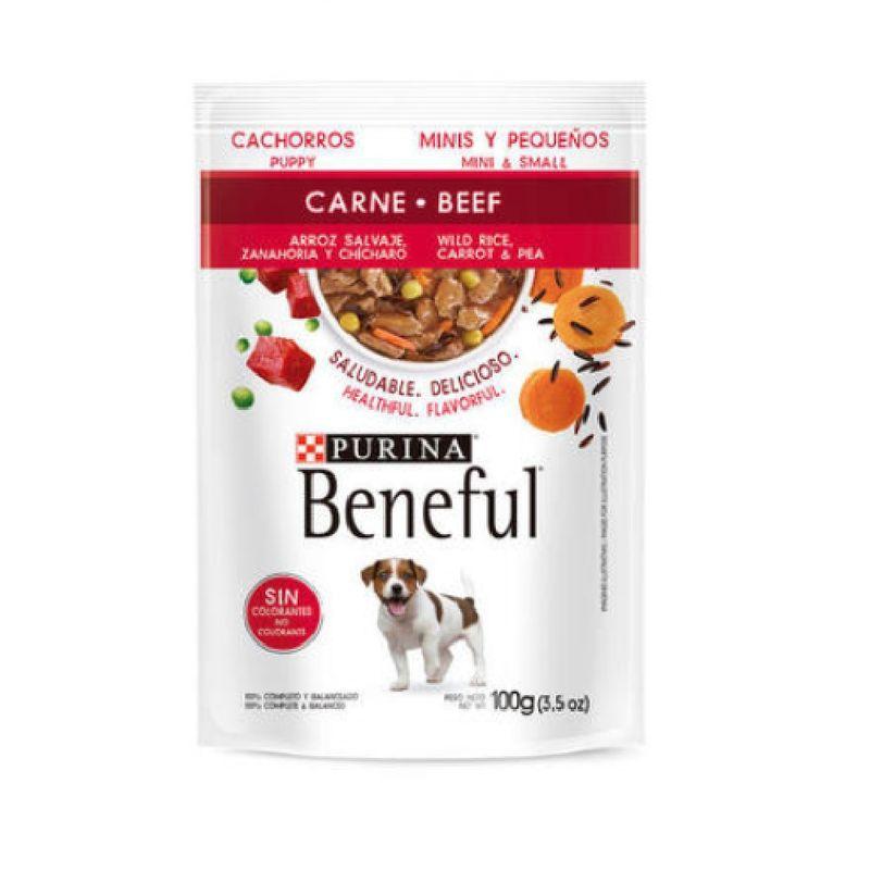 Comida-Seca-Perro-Purina-Beneful-Puppy-Mini-Carne-100-Gr