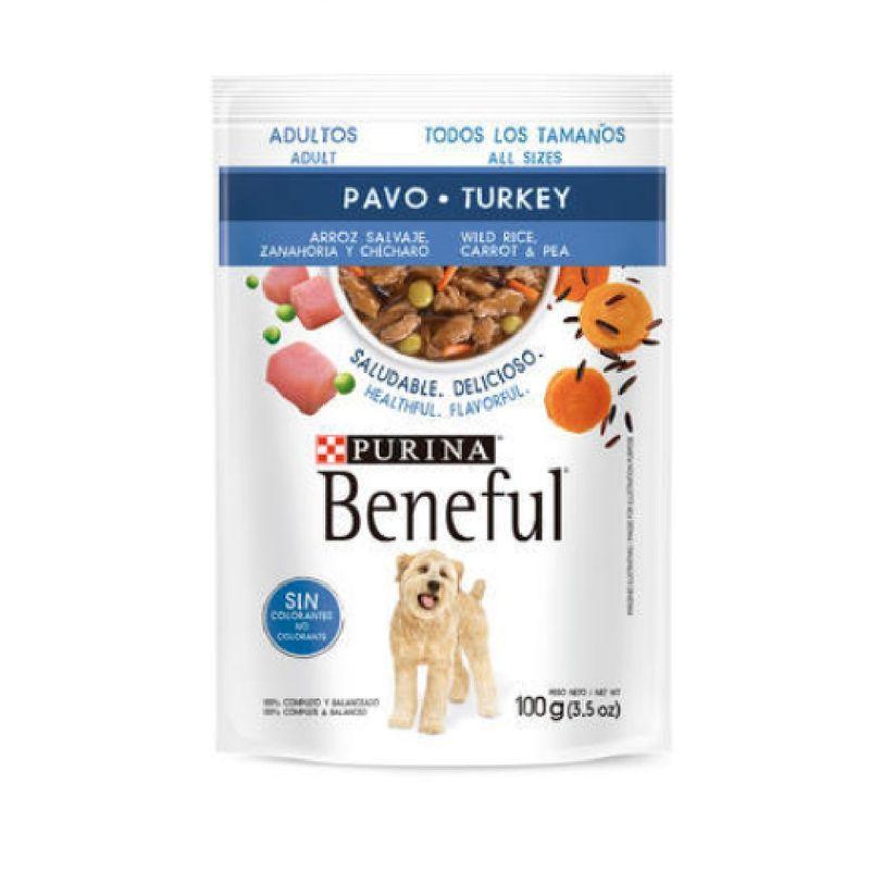 Comida-Seca-Perro-Purina-Beneful-Adult-Pavo-100-Gr