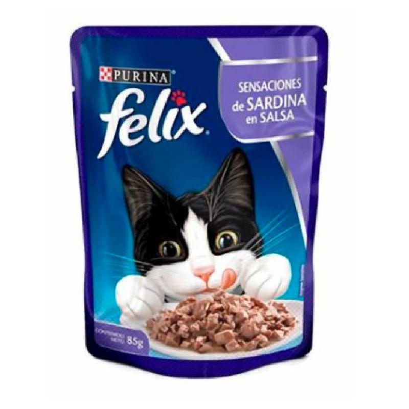 Comida-Humeda-Gatos-Felix-Sardinas-en-Salsa-Pouch-85-Gr
