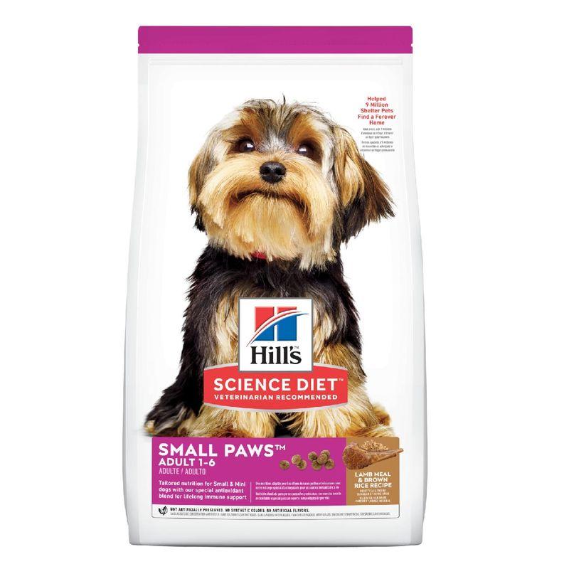 Comida-Para-Perros-Hills-Adult-Small-Paws-Lamb-Meal---Brown-Rice-4.5-Lb