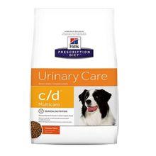 Comida Medicada Para Perros Hills c/d Multicare Chicken 1.5 Lb