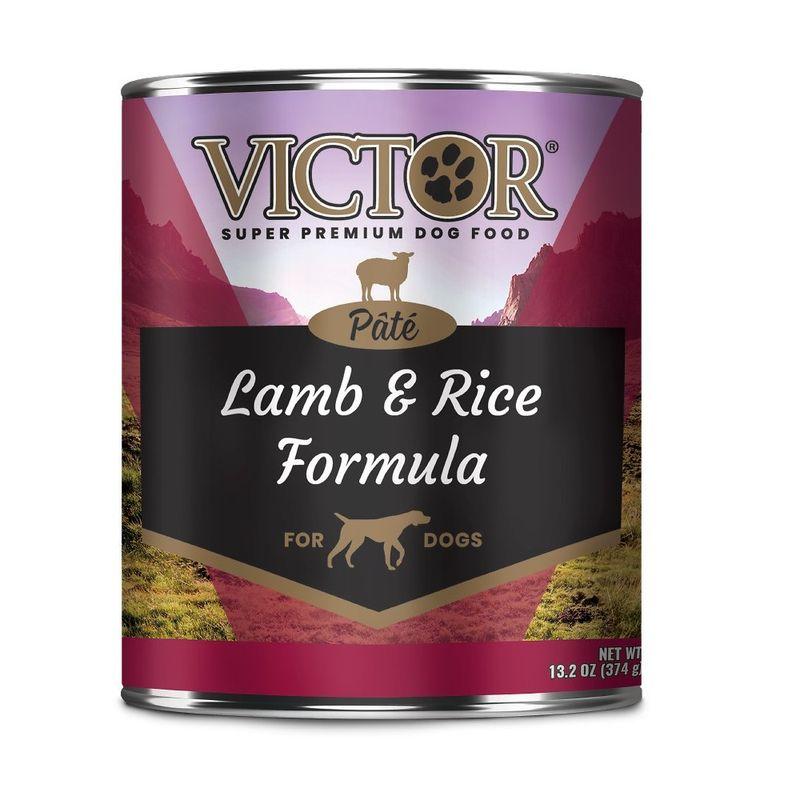 Comida-Humeda-Para-Perros-Victor-Lamb---Rice-Pate-12-Oz