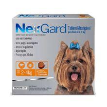 Antipulgas Para Perros Nexgard de 2 a 4 Kg