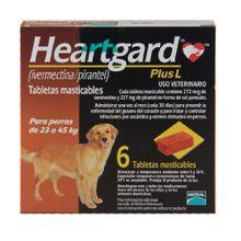 Antipulgas Para Perros Heardgard  de 23 a 45 Kg 272 Mcg