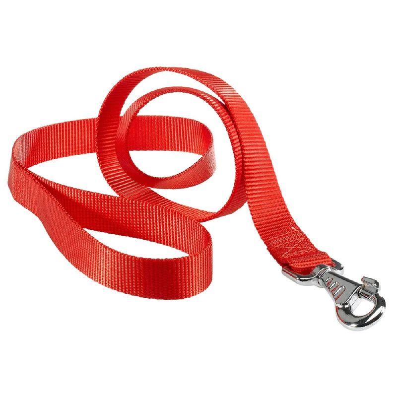 Correa-de-Nylon-Ferplast-Club-Red
