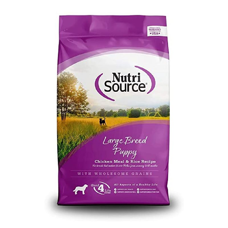 Comida-Para-Perros-Nutrisource-Large-Breed-Puppy-Chicken-And-Rice-15-Lb