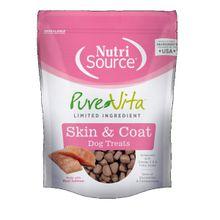 Comida Para Perros Nutrisource Purevita Skin & Coat Dog Treat 6 Oz