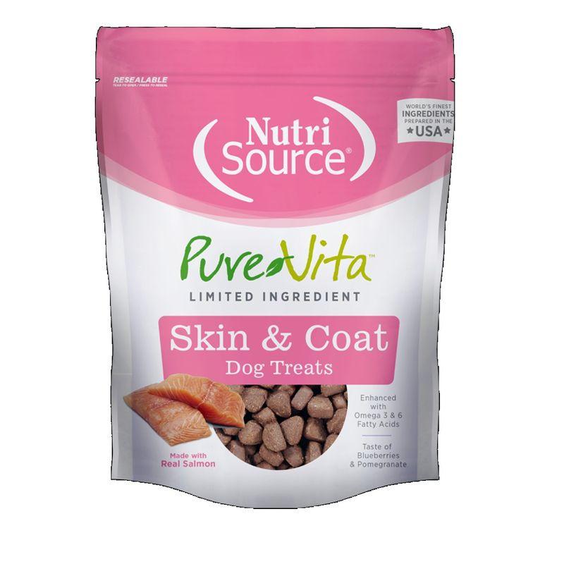 Comida-Para-Perros-Nutrisource-Purevita-Skin---Coat-Dog-Treat-6-Oz