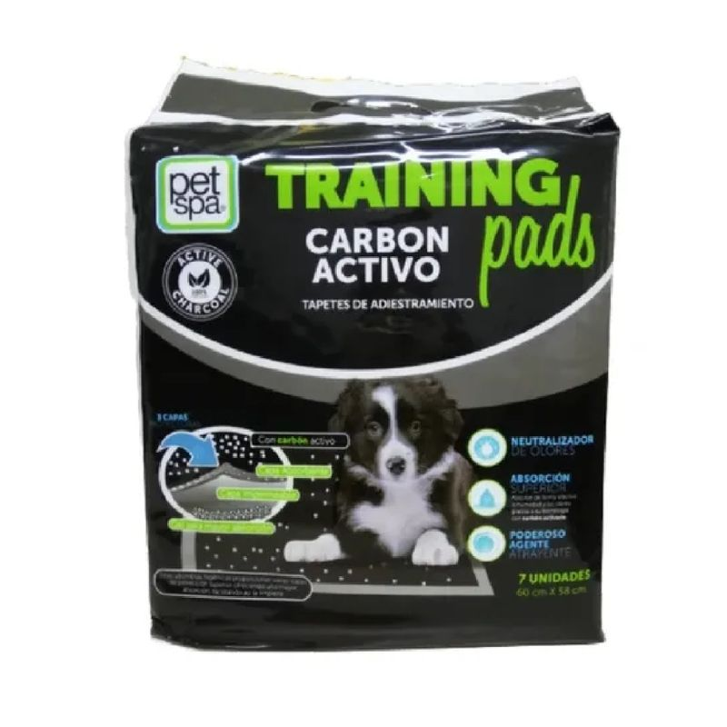 Tapete-Para-Perros-Trainning-Pads-Carbon-Activo-14-Unidades