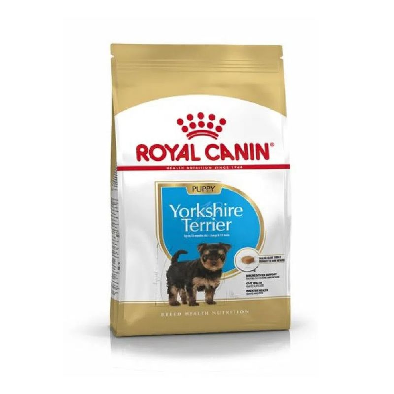 Promo-Comida-Para-Perros-Royal-Canin-Puppy-Yorkshire-Terrier-1.5-Kg---Contenedor-de-Comida