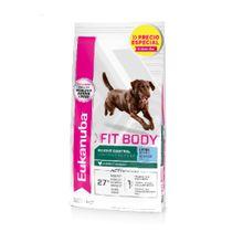 Comida Para Perros Eukanuba Adult Fit Body Large Breed 30 Lb