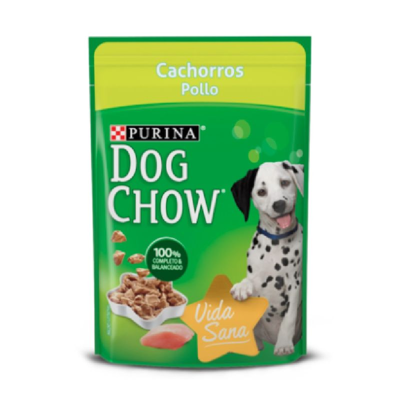 Comida-Humeda-Para-Perros-Dog-Chow-Cachorros-Pollo-100-Gr