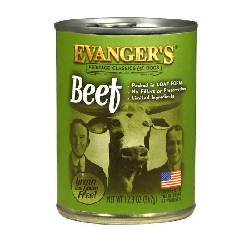 Comida-Humeda-Para-Perros-Evangers-Beef-12.8-Oz